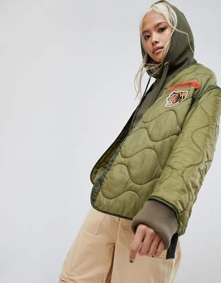 MHI Upcycled Military Liner Jacket
