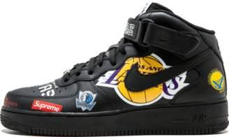 Nike Force 1 Mid '07/Supreme 'NBA' - Black