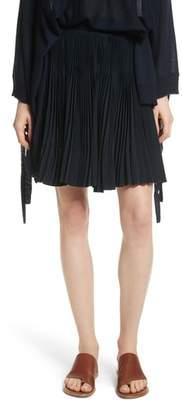 Vince Multi Pleat Skirt