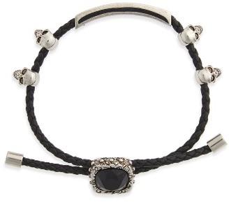 Women's Alexander Mcqueen Jewel Friendship Bracelet $495 thestylecure.com
