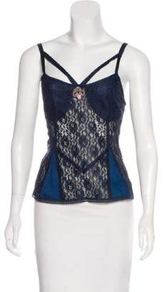 Marc by Marc Jacobs Sleeveless Lace Top w/ Tags