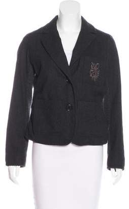 Sonia Rykiel Sonia by Wool Notch-Lapel Jacket