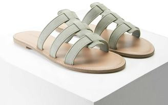 FOREVER 21+ Faux Suede Strappy Slides $12.90 thestylecure.com