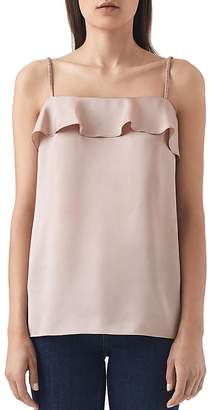Reiss Jessica Ruffled Camisole Top