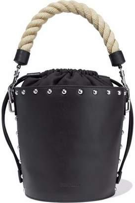 J.W.Anderson Stud-Embellished Leather Bucket Bag