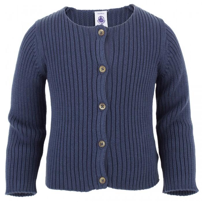 Petit Bateau Navy knitted cardigan