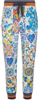 Dolce & Gabbana Majolica Sweatpants