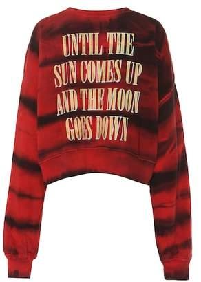 Amiri Printed cotton sweater