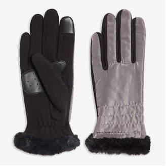 Joe Fresh Women's Gloves, Slate Grey (Size L/XL)