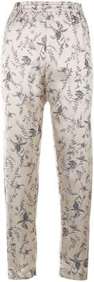 Forte Forte floral jacquard trousers