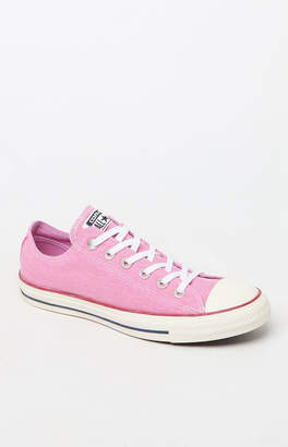 Converse Women's Pink Vintage All Star Low Top Sneakers