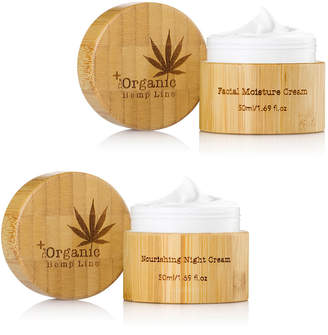 The Organic Hemp Line Day & Night Facial Cream Set 2 x 1.69 oz.\/ 50 mL