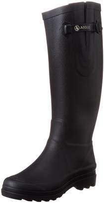 La Redoute Aigle Womens Classic Natural Rubber Wellington Boots
