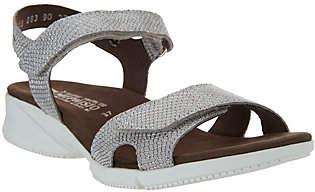 Mephisto Leather Quarter Strap Sandals- Francesca