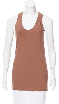 Brunello Cucinelli Sleeveless Scoop Neck Top w/ Tags