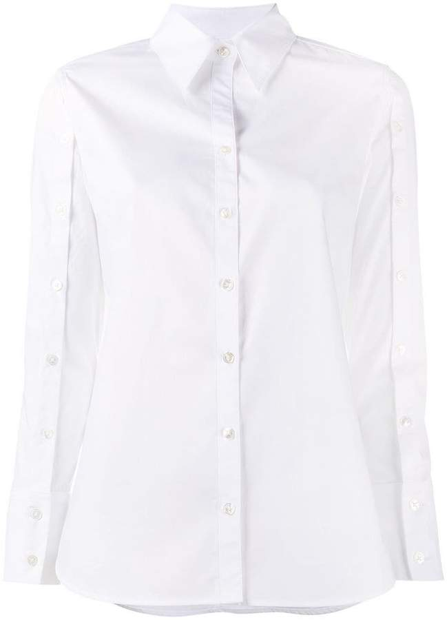 Creatures of the Wind buttoned sleeve shirt