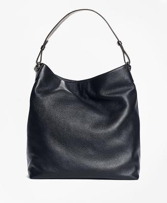 Pebble Leather Hobo $298 thestylecure.com