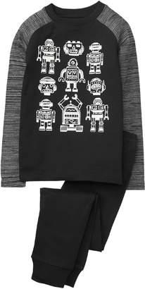 Crazy 8 Crazy8 Robot 2-Piece Pajama Set