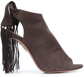 Aquazzura 'Fringe Tie' sandals