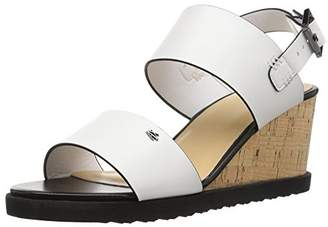 Armani Exchange A|X Women's Cork Wedge Sandals