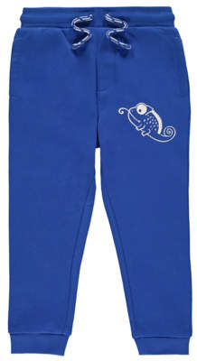 George Blue Chameleon Cuffed Joggers