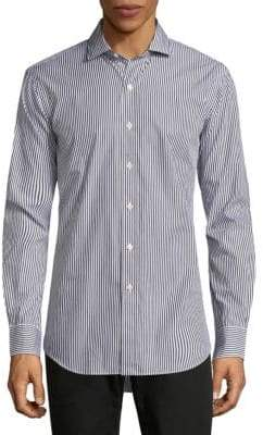 Ralph Lauren Slim-Fit Poplin Button-Down Shirt