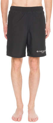 Givenchy Men's Logo Swim Trunks
