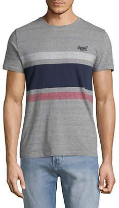 Superdry Short Sleeve Knit Stripe Tee