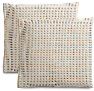 Hotel Collection Two-Pack Eyelet Pillow Shams