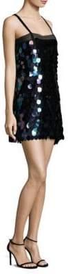 Milly Paillette Mini Dress
