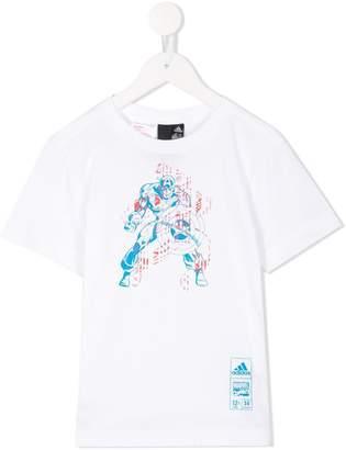 adidas Kids Marvel Captain America T-shirt