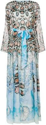 Temperley London printed bow dress