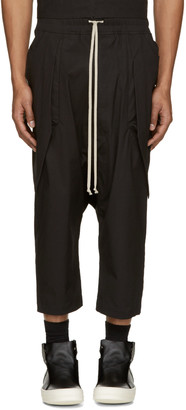 Rick Owens Black Anthem Cargo Trousers $570 thestylecure.com
