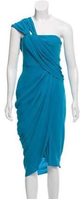 3.1 Phillip Lim Silk Asymmetrical Dress