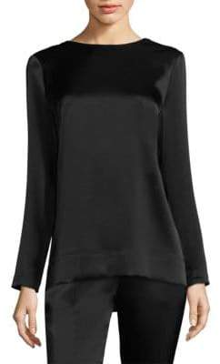 Escada Nempo Slash Back Blouse