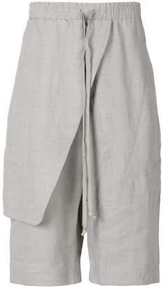 Lost & Found Ria Dunn wrap detail shorts