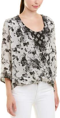 Tolani Christelle Floral Silk Blouse