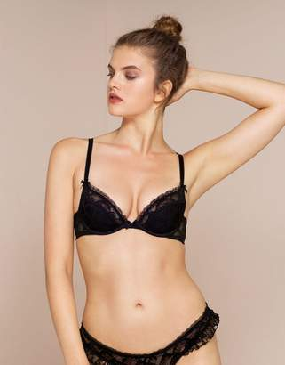 Agent Provocateur Anna Padded Plunge Underwired Bra