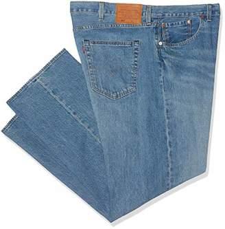 e6d810b2 Levi's Men's 501 Button Fly B&t Straight Jeans ...