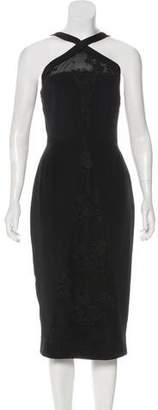 Cushnie et Ochs Silk Midi Dress