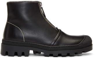 Loewe Black Zip Boots