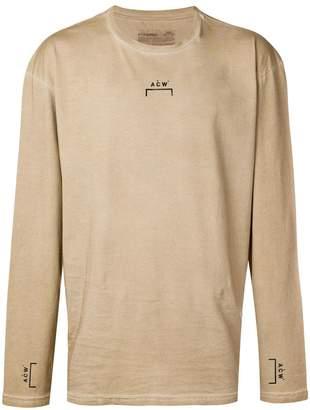 A-Cold-Wall* logo print longsleeved T-shirt