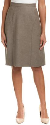 Escada Wool-Blend Skirt