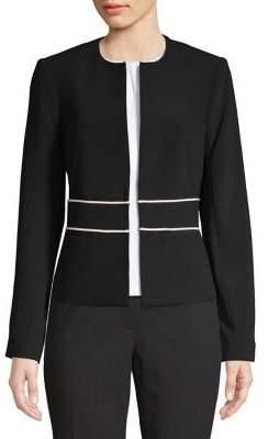 Tommy Hilfiger Open-Front Zip Jacket