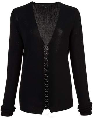 Barbara Bui chain front sweater