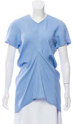 Celine Short Sleeve V-Neck Top