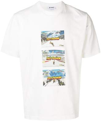 Sunnei fast fashion print T-shirt