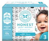 The Honest Company Skulls/Space Travel Size 3 Club Box Diapers
