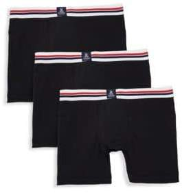 Psycho Bunny Three-Pack Motion Boxer Briefs