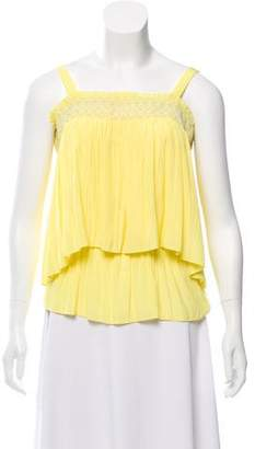 Ramy Brook Off-The-Shoulder Ruffled Top